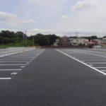 駐車場およびモータープール舗装の施工事例