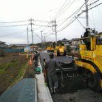 道路舗装の施工事例